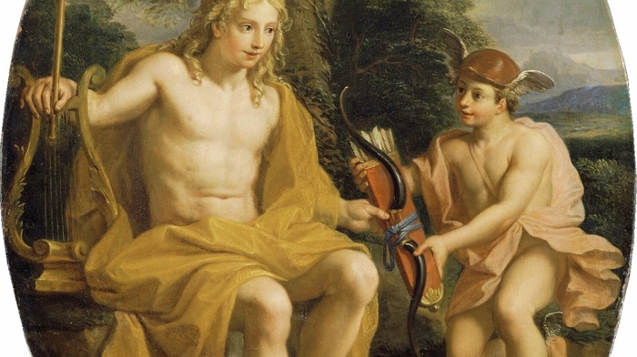 classic art, painting, Greek mythology