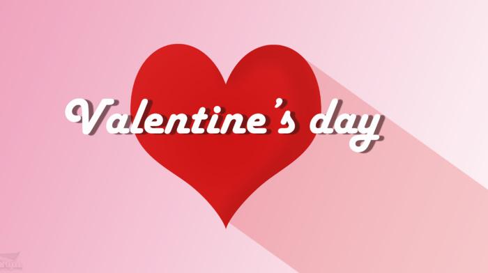 love, friendship, heart, Valentines Day, typography