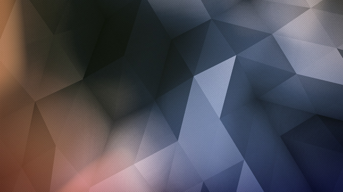 digital art, triangle, abstract