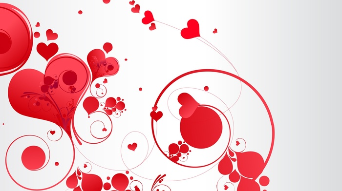 heart, simple background, vector art, Valentines Day