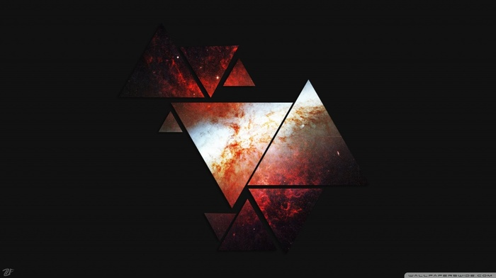 abstract, triangle, geometry