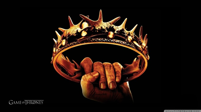 Game of Thrones, hands, crown