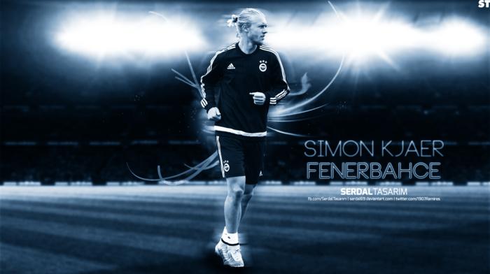footballers, Fenerbahe, Simon Kjaer, soccer