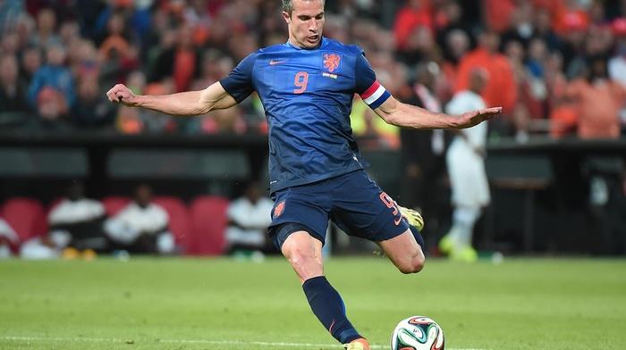Netherlands, men, Robin van Persie