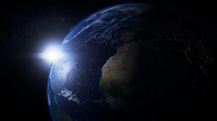 render, Earth, space