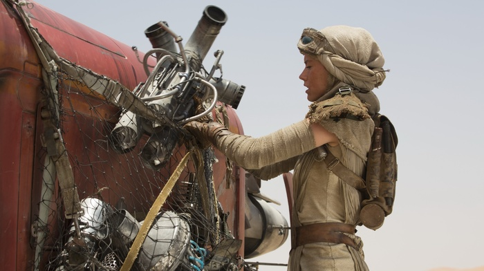 Star Wars, movies, Daisy Ridley, Star Wars The Force Awakens