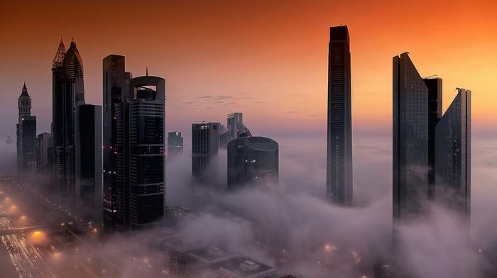 city, Dubai, building