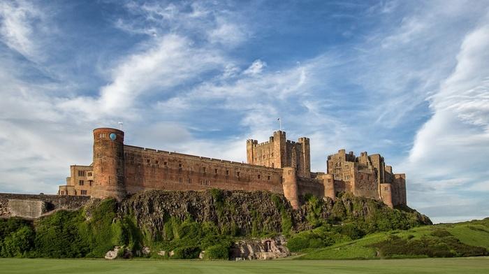 castle, bamburgh castle