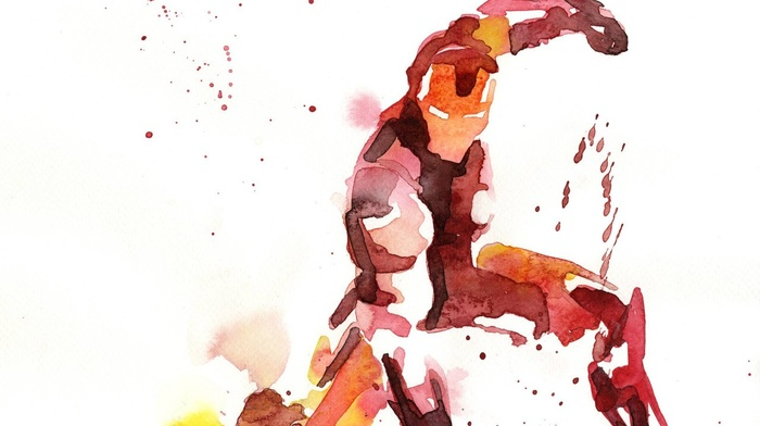 paint splatter, Marvel Heroes, Iron Man, The Avengers, Marvel Comics, watercolor, Avengers Age of Ultron