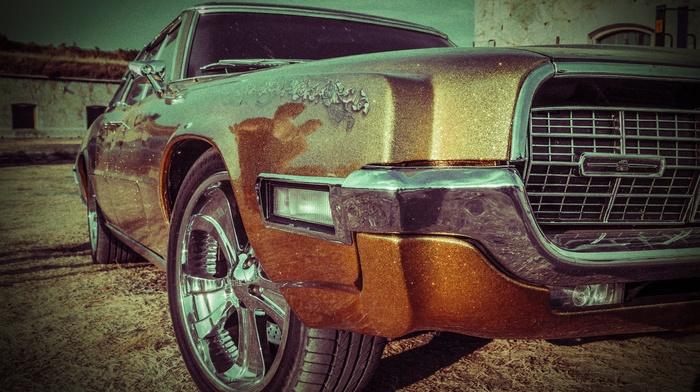American cars, muscle cars, Ford, car, Thunderbird, classics, Ford Thunderbird, vintage