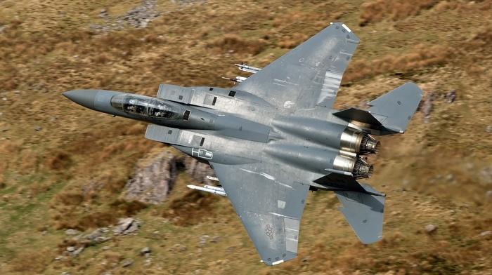 aircraft, military, f, 15, McDonnell Douglas F, 15 eagle, 15E Strike Eagle