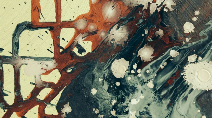 abstract, paint splatter, painting, artwork