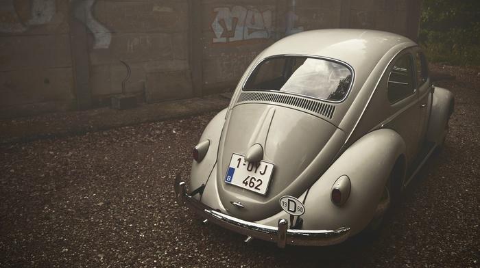 Belgium, Volkswagen Beetle, vehicle, Volkswagen, vintage, Oldtimer, car