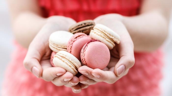 hands, girl, sweets