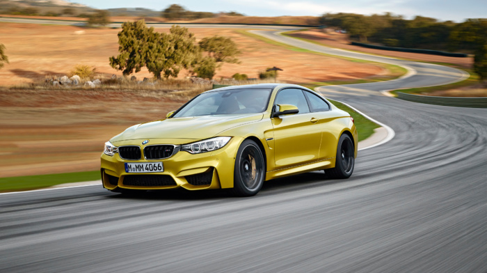 vehicle, BMW M4, car, motion blur, race tracks