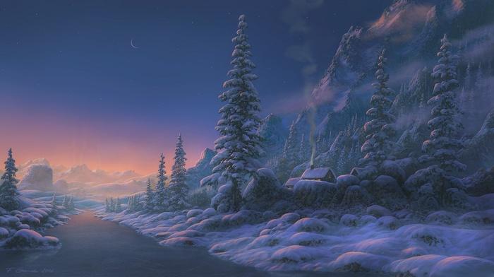 fantasy art, landscape