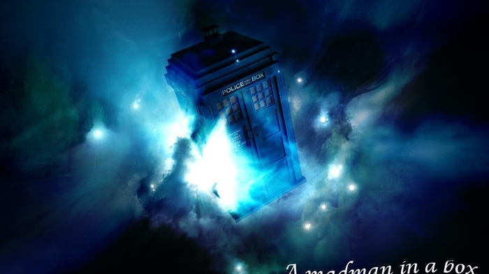 Doctor Who, blue, space