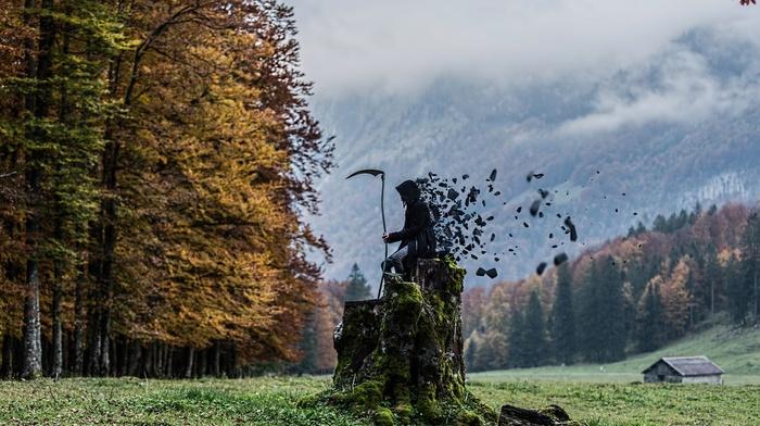 grim reaper, fantasy art