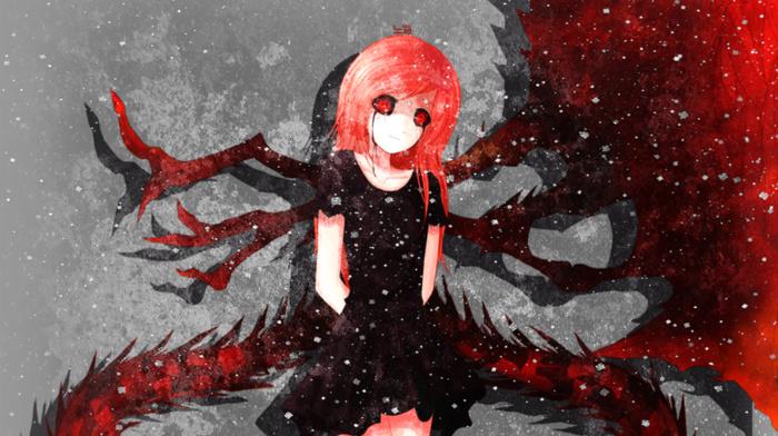 red eyes, anime girls, anime