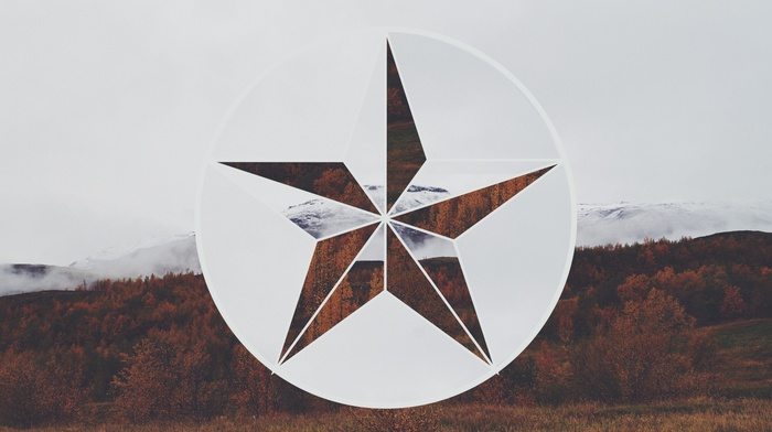 circle, nature, stars