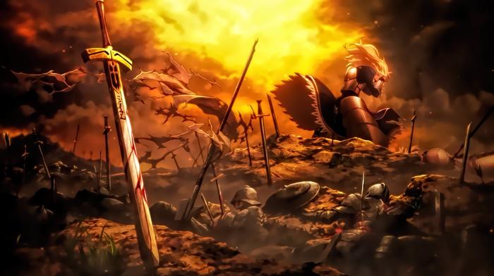 FateStay Night Unlimited Blade Works, Saber
