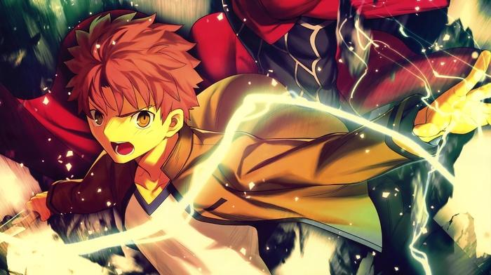 FateStay Night Unlimited Blade Works, fate series, Archer FateStay Night, anime, Shirou Emiya