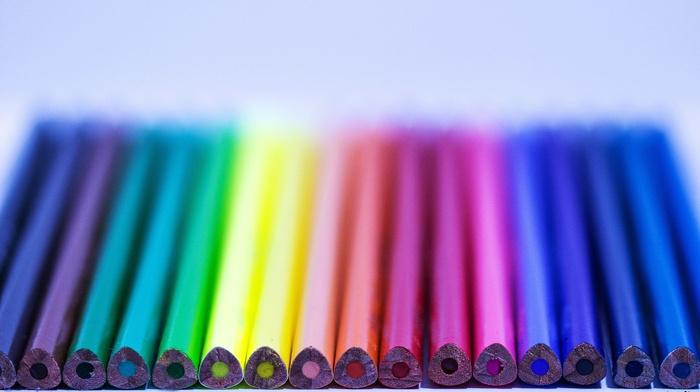 photography, pens, colorful, macro, photographer, rainbows