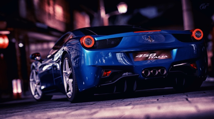 Ferrari, video games, Ferrari 458 Italia, Gran Turismo 5, car
