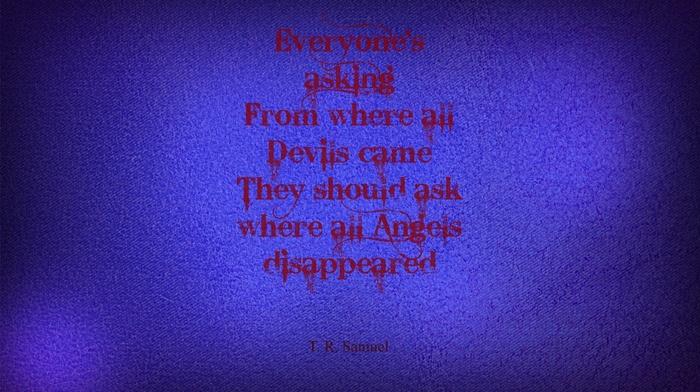 Book quotes, quote, T. R. Samuel