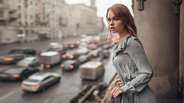 Anastasia Scheglova, Georgy Chernyadyev, dress, girl, model, portrait