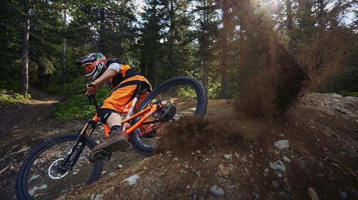 bicycle, men, dirt, mountain bikes, Downhill mountain biking, sports, sport
