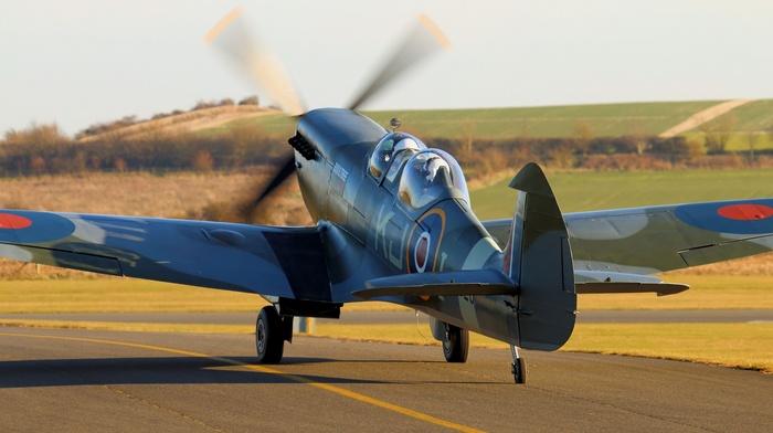 aircraft, vehicle, Supermarine Spitfire