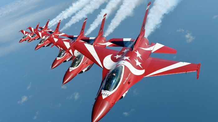 aircraft, vehicle, General Dynamics F, 16 Fighting Falcon