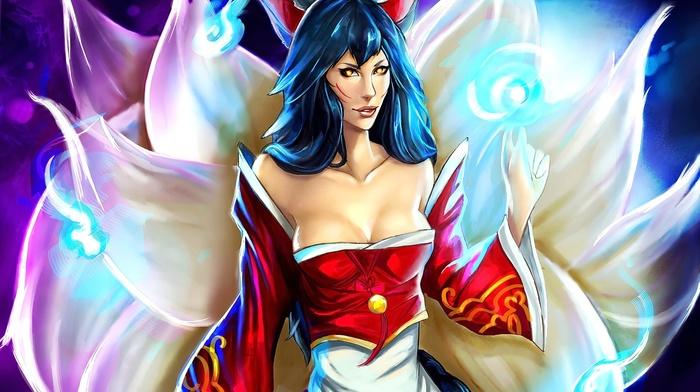 League of Legends, Ahri, anime