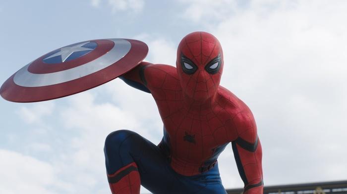 shield, Marvel Cinematic Universe, Captain America, Marvel Comics, Captain America Civil War, movies, spider, man, Peter Parker