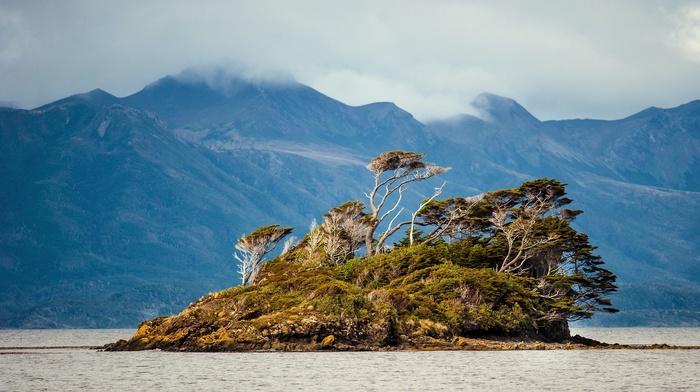 nature, water, island