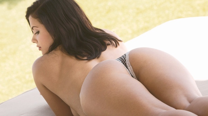 brunette, pornstar, girl, boobs, panties, Keisha Grey, big boobs, ass