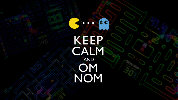 Keep Calm and..., ghosts, retro games, video games, Pac, man, yellow, ghost