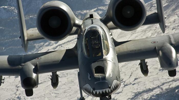 military, Fairchild A, 10 Thunderbolt II, aircraft, military aircraft