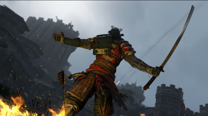 samurai, looking into the distance, For Honor