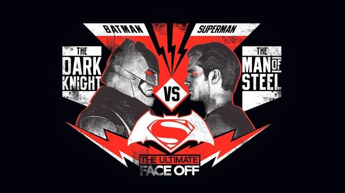 Batman, Superman, poster, batman v superman dawn of justice, movies