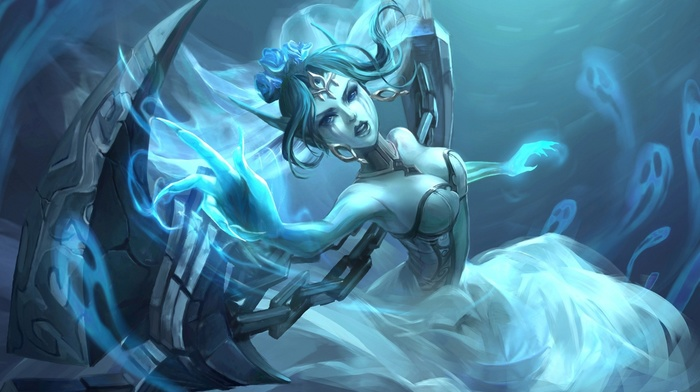 League of Legends, Morgana League of Legends, video games