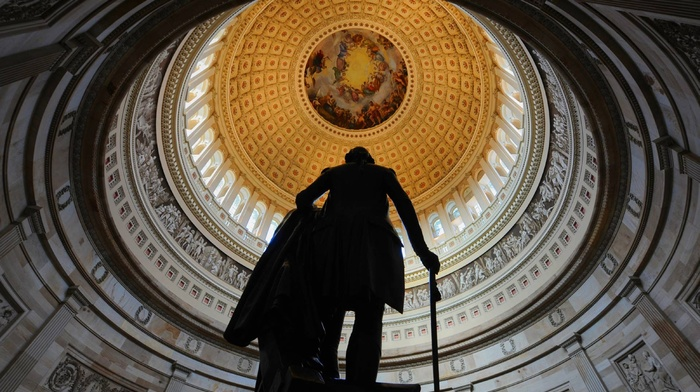 men, USA, statue, Washington, sculpture, dome, presidents, painting, .C., artwork, history, George Washington, architecture