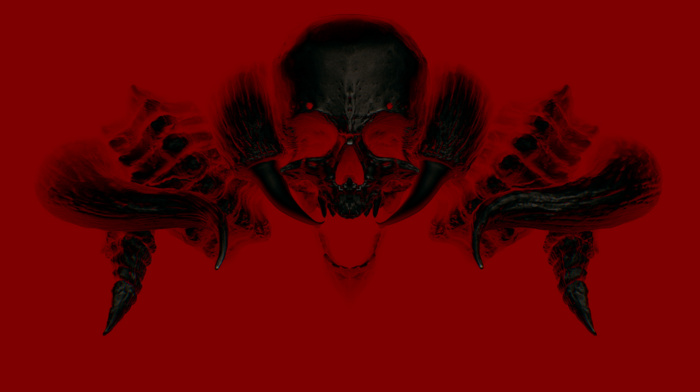 devil daggers, video games, skull