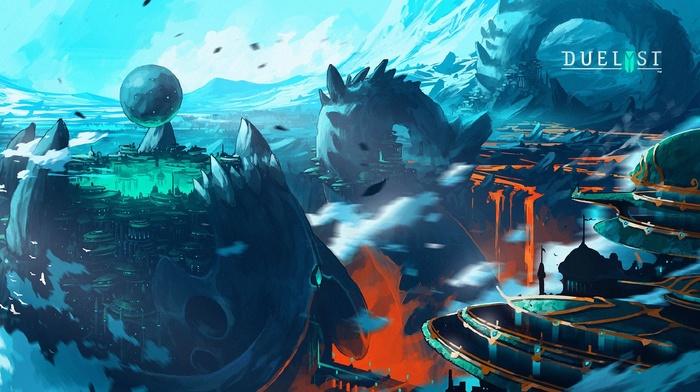 digital art, artwork, video games, Duelyst, concept art