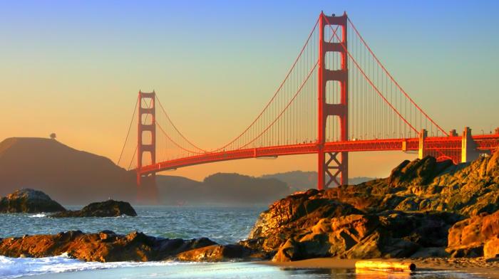 bridge, USA, san francisco, golden gate bridge