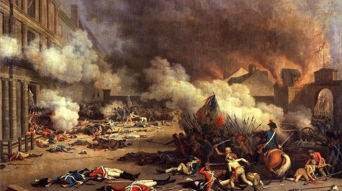 battle, revolution, Jean Duplessis, Bertaux, France