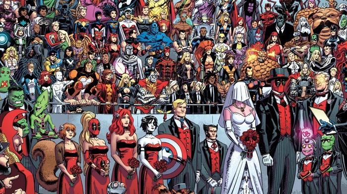 Deadpool, superhero, marriage, Marvel Comics