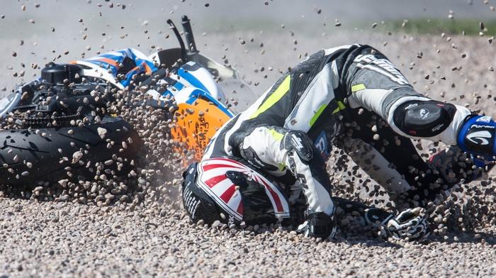 motorcycle, ultra, wide, crash