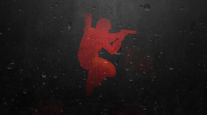 Counter, Strike Global Offensive, jumping, silhouette
